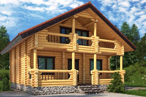 Одноэтажный дом с камином Проект 17-12 - Проекты домов в