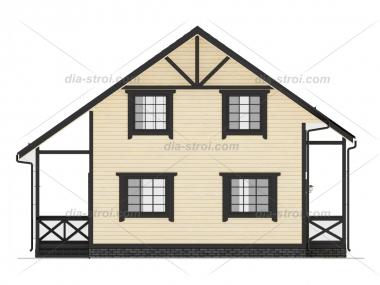 Проект БД-36 Дом из бруса