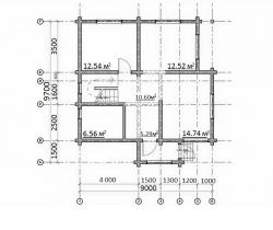 Проект дома  П-32