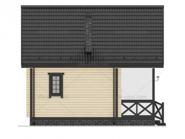 Проект дома  П-15