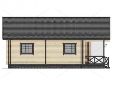 Проект дома  П-18