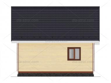 Проект БД-28 Дом из бруса