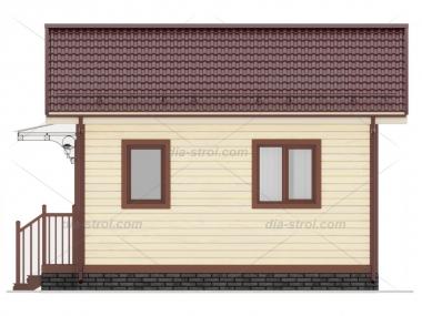 Проект БД-2 Дом из бруса