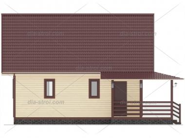 Проект дома БД-37
