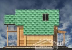 Проект БД-49 Дом из бруса