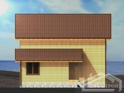 Проект БД-55 Дом из бруса
