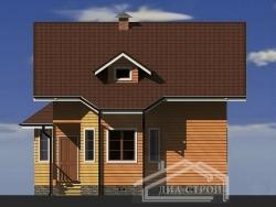 Проект БД-61 Дом из бруса