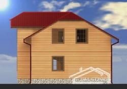 Проект дома из бруса БД-48
