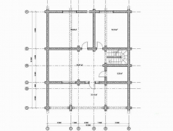 Проект Д-29 Дом из оцилиндрованного бревна