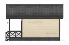 Проект БД-11 Дом из бруса