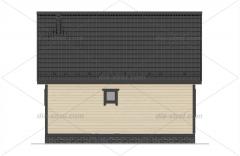 Проект БД-31 Дом-баня из бруса