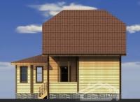 Проект БД-34 Дом из бруса