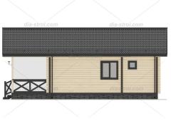 Проект дома  П-16