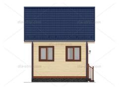 Проект БД-14 Дом из бруса