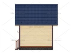 Проект деревянного дома БД-14