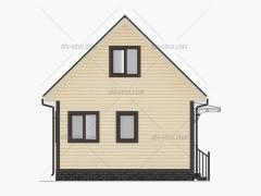 Проект БД-16 Дом из бруса
