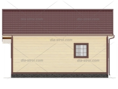 Проект деревянного дома БД-24