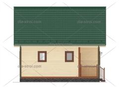 Проект дома с мансардой БД-25