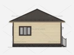 Проект БД-42 Дом из бруса