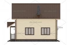 Проект БД-63 Дом из бруса