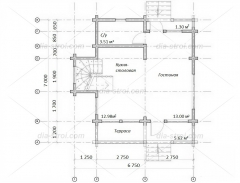 Проект дома П-26