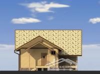 Проект БД-43 Дом из бруса