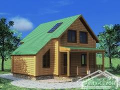 Проект дома БД-14