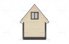 Проект БД-5 Дом из бруса