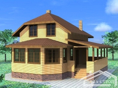 Проект дома БД-20