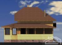 Проект БД-58 Дом из бруса