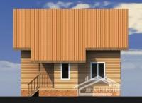 Проект БД-40 Дом из бруса