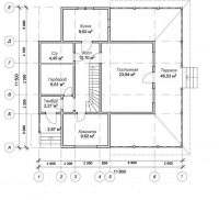 Проект БД-47 Дом из бруса