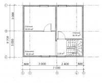 Проект БД-54 Дом из бруса