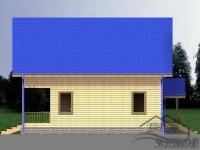 Проект БД-50 Дом из бруса
