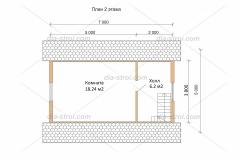 Проект БД-7 Дом из бруса