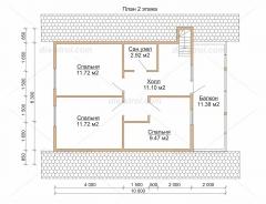 Проект дома БД-29