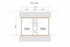Проект БД-20 Дом из бруса
