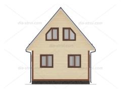Проект дома БД-19